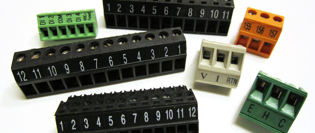 printing terminal blocks
