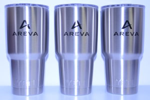 Printed stainless cups